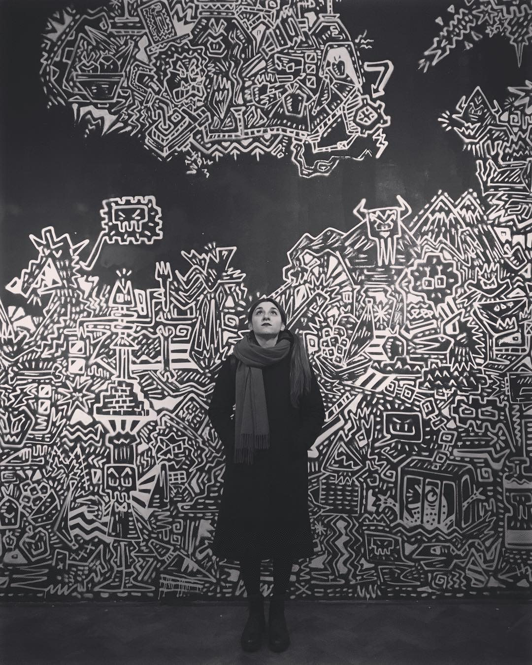 #thedoodleman #obsessions #hoxtongallery